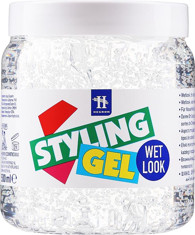 Gel coiffant effet mouillé - Hegron Styling Gel Wet Look