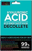 Parfums et Produits cosmétiques Masque tissu à l'acide hyaluronique pour décolleté - Beauty Face IST Extremely Moisturizing Decolette Mask Hyaluronic Acid