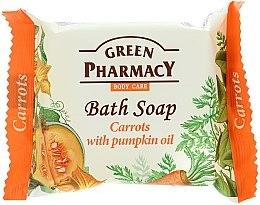 Parfums et Produits cosmétiques Savon aux carottes et huile de graines de citrouille - Green Pharmacy