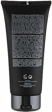 Masque régénérant aux protéines de soie pour cheveux № 5.3 - Divination Simone De Luxe Dixidox DeLuxe Steel and Silk Treatment Mask — Photo N3