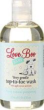 Parfums et Produits cosmétiques Gel nettoyant à l'extrait de pomme et d'avoine pour corps et cheveux - Love Boo Baby Very Gentle Top-To-Toe Wash