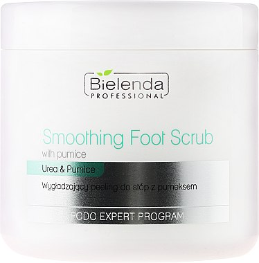 Gommage à l'urée pour pieds - Bielenda Professional Podo Expert Program Smoothing Foot Scrub With Urea and Pumice
