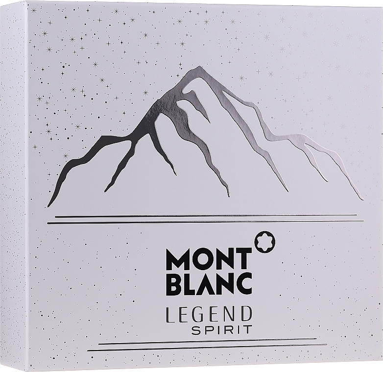 Montblanc Legend Spirit - Coffret (eau de toilette/100ml + baume après-rasage/100ml + gel douche/100ml)