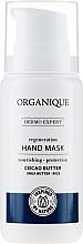 Parfums et Produits cosmétiques Masque bio au beurre de cacao et karité pour mains - Organique Dermo Expert Hand Mask