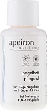 Parfums et Produits cosmétiques Huile à l'huile de jojoba pour mains et ongles - Apeiron Nail Bed Oil