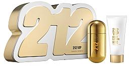 Parfums et Produits cosmétiques Carolina Herrera 212 VIP - Coffret (eau de parfum/50ml + lotion corporelle/75ml)