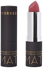 Parfums et Produits cosmétiques Rouge à lèvres mat - Korres Morello Matte Lipstick