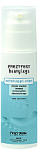 Parfums et Produits cosmétiques Gel-crème rafraîchissant pour jambes fatiguées - Frezyderm Frezyfeet Heavy Legs Refreshing gel-cream