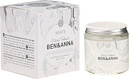Parfums et Produits cosmétiques Dentifrice naturel - Ben & Anna Natural White Toothpaste