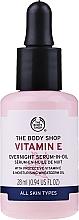 Parfums et Produits cosmétiques Sérum de nuit à la vitamine E - The Body Shop Vitamin E Overnight Serum-In-Oil