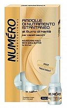 Parfums et Produits cosmétiques Ampoules au beurre de karité pour cheveux - Brelil Numero Nourishing Vials For Hair With Shea Butter