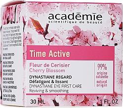 Parfums et Produits cosmétiques Crème à l'extrait de fleur de cerisier pour contour des yeux - Academie Time Active Cherry Blossom Dynastiane Eye First Care