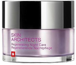 Parfums et Produits cosmétiques Crème de nuit à l'huile de graines de tournesol - Artemis of Switzerland Skin Architects Regenerating Night Care