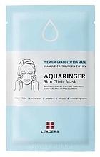 Parfums et Produits cosmétiques Masque hydratant en coton pour visage - Leaders Aquaringer Skin Clinic Mask