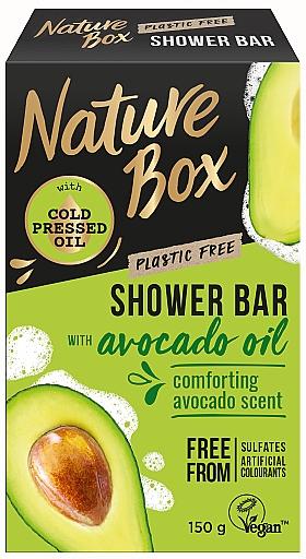 Savon à l'huile d'avocat pour corps - Nature Box Avocado Oil Shower Bar — Photo N1