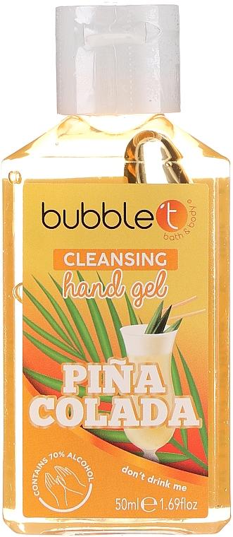 Gel antibactérien pour mains, Pina Colada - Bubble T Pina Colada Hand Cleansing Gel