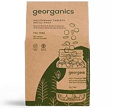 Parfums et Produits cosmétiques Comprimés de bain de bouche à l'arbre à thé (recharge) - Georganics Mouthwash Tablets Tea Tree