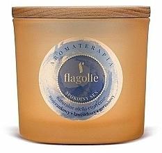 Parfums et Produits cosmétiques Bougie parfumée aux huiles essentielles, Sommeil paisible - Flagolie Fragranced Candle Rest Sleep