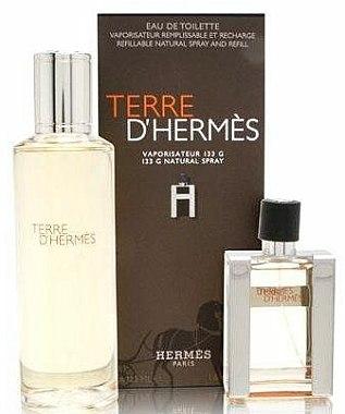 Hermes Terre dHermes - Coffret (eau de toilette/30ml + eau de toilette/125ml) — Photo N3