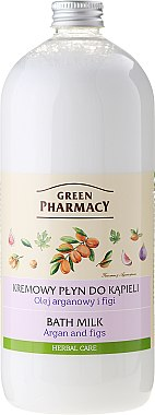 Lait de bain à l'huile d'argan et figues - Green Pharmacy