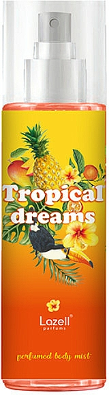 Lazell Tropical Dreams - Brume parfumée pour corps