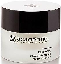 Parfums et Produits cosmétiques Crème à l'huile de graines de tournesol pour visage - Academie Visage Nourishing And Revitalizing Cream Dermonyl