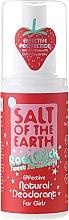 Parfums et Produits cosmétiques Déodorant spray naturel pour filles - Salt of the Earth Rock Chick Girls Sweet Strawberry Natural Deodorant