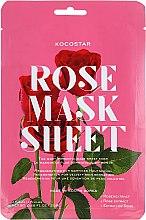 Parfums et Produits cosmétiques Masque en tissu à l'extrait de rose - Kocostar Slice Mask Sheet Rose