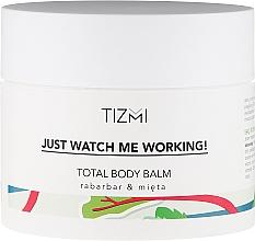 Parfums et Produits cosmétiques Baume corporel rhubarbe et menthe - Tizmi Total Body Balm Rhubarb & Mint
