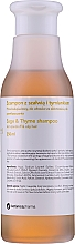 Parfums et Produits cosmétiques Shampooing pour cheveux gras à la sauge et au thym - Botanicapharma Sage & Thyme Shampoo