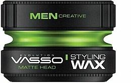 Parfums et Produits cosmétiques Cire coiffante matifiante - Vasso Professional Hair Styling Wax Pro-Matte Head