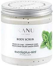 Parfums et Produits cosmétiques Gommage pour corps, Eucalyptus et Menthe - Kanu Nature Eucalyptus With Mint Body Scrub