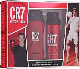Parfums et Produits cosmétiques Cristiano Ronaldo CR7 - Set (gel douche/200ml + déodorant spray/114g)