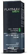 Parfums et Produits cosmétiques Crème aux protéines d'amande douce pour visage - Dr Irena Eris Platinum Men Age Power Extreme Anti-wrinkle Cream