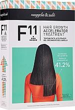 Parfums et Produits cosmétiques Nuggela & Sule F11 Hair Growth Accelerating Treatment - Coffret (shampooing/250ml + sérum/70ml)