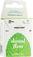 Parfums et Produits cosmétiques Fil dentaire en soie, vegan, Menthe fraîche - The Humble Co. Dental Floss Fresh Mint