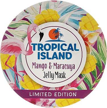 Masque régénérant à l'extrait de mangue pour visage - Marion Tropical Island Mango & Maracuya Jelly Mask