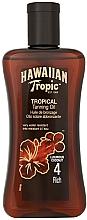 Parfums et Produits cosmétiques Spray d'huile de bronzage - Hawaiian Tropic Tropical Tanning Oil Coconut SPF 4