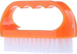Parfums et Produits cosmétiques Brosse nettoyante pour ongles, 74752, orange - Top Choice