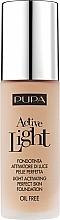 Parfums et Produits cosmétiques Fond de teint sans huile - Pupa Active Light SPF10