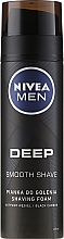 Parfums et Produits cosmétiques Mousse à raser au charbon actif - Nivea Deep Shaving Foam