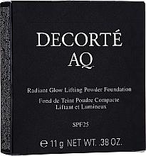 Parfums et Produits cosmétiques Fond de teint poudre compacte - Cosme Decorte AQ Radiant Glow Lifting Powder Foundation Refill (recharge)