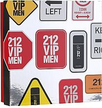 Parfums et Produits cosmétiques Carolina Herrera 212 VIP Men - Coffret (eau de toilette/100 ml + gel douche/100 ml)