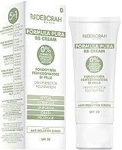 Parfums et Produits cosmétiques BB Crème naturelle 5 en 1 SPF 20 - Deborah Milano Formula Pura BB Cream 5in1