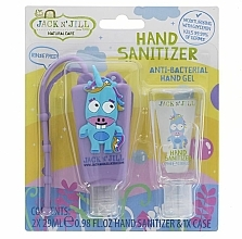 Parfums et Produits cosmétiques Jack N' Jill Hand Sanitizer Unicorn - Set (gel désinfectant pour mains/2x29 ml + étui)