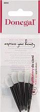 Parfums et Produits cosmétiques Applicateur mousse pour fard à paupières, 5 pcs, noir-blanc - Donegal Eyeshadow Applicator