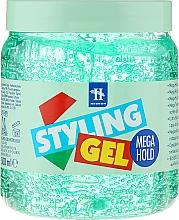 Parfums et Produits cosmétiques Gel coiffant - Tenex Styling Wetlook Green Gel