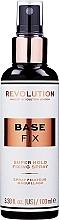 Parfums et Produits cosmétiques Spray fixateur de maquillage - Makeup Revolution Base Fix Makeup Fixing Spray