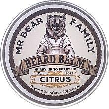 Parfums et Produits cosmétiques Baume à barbe aux huiles naturelles et beurre de karité, Agrumes - Mr. Bear Family Beard Balm Citrus