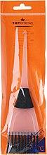 Parfums et Produits cosmétiques Pinceau pour coloration des cheveux, 65002, noir-blanc - Top Choice